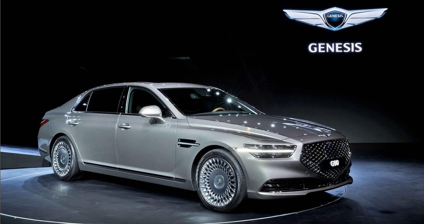 Ảnh thực tế xế sang Genesis G90 2020 vừa ra mắt