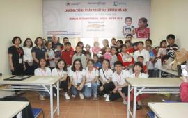 Chevrolet mang nụ cười đến với trẻ em dị tật hàm mặt tại Việt Nam