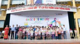 """Trẻ em Việt thoả sức sáng tạo """"chiếc ôtô mơ ước"""""""