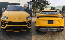 Siêu xe Lamborghini Urus thứ 3 về Việt Nam với màu vàng nổi bật