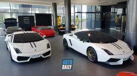 Ghé thăm showroom kinh doanh siêu xe với cả dàn Lamborghini