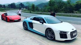 Cường Đô la đưa bộ đôi siêu xe ra Lạng Sơn ra mắt nhà gái
