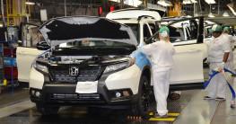 Honda Passport 2019 bắt đầu đi vào sản xuất