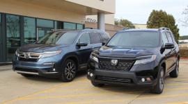 So sánh Honda Pilot và Passport hoàn toàn mới