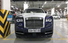 Rolls-Royce Wraith biển 56789 hồi sinh sau tai nạn với CR-V