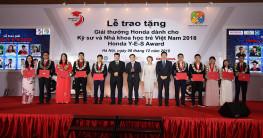 Honda Việt Nam tổ chức Lễ Trao tặng Giải thưởng Honda Y-E-S 2018