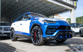 Siêu xe Lamborghini Urus ồ ạt về Campuchia, đua với Việt Nam