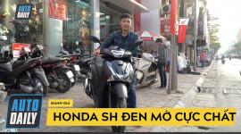 Đánh giá nhanh Honda SH đen mờ cực chất