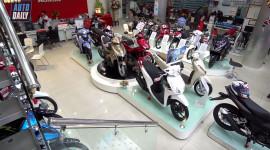Xe ga Honda chênh giá, Yamaha bán chậm mùa cuối năm