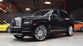 Rolls-Royce Cullinan độ vành 22 inch cực chất của Forgiato
