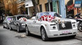 Đám cưới khủng quy tụ 3 Rolls-Royce Phantom, Maybach và Lamborghini