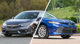 Top 10 mẫu sedan bán chạy nhất năm 2018