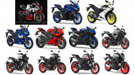 Điểm mặt dàn mô tô mới của Yamaha