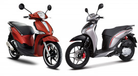 Dưới 60 triệu chọn Honda SH Mode hay Piaggio Liberty?