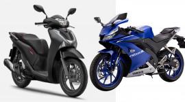 Dưới 100 triệu nên mua Honda SH hay Yamaha R15?