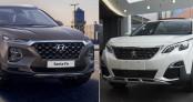 Chờ Hyundai Santa Fe 2019 hay mua luôn Peugeot 5008?