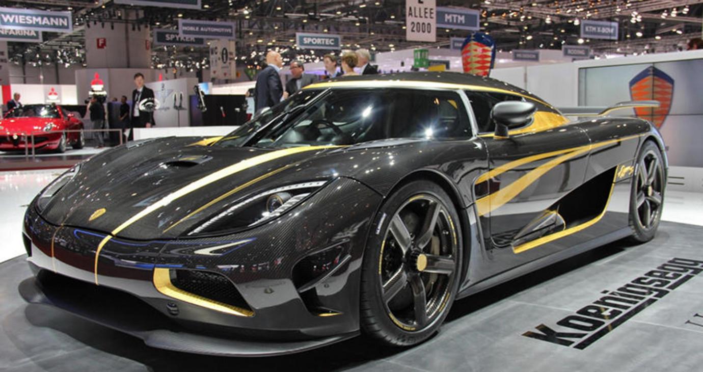 8 mẫu ôtô sang chảnh dùng vàng và các kim loại quý để thiết kế