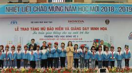 """HVN tổ chức chương trình """"An toàn giao thông cho nụ cười trẻ thơ"""""""
