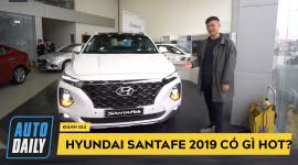 Đánh giá nhanh Hyundai SantaFe 2019 bản máy dầu vừa trình làng