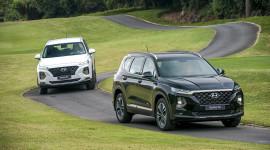 """Hyundai SantaFe 2019 chênh giá cả trăm triệu, hãng """"bó tay"""""""