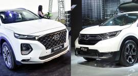 Hơn 1 tỷ đồng, chọn Hyundai SantaFe 2019 hay Honda CR-V?