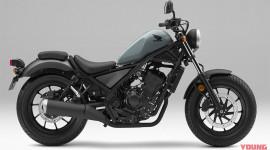 Honda Rebel 250 ABS 2019 có thêm màu mới