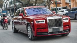 Chùm ảnh Rolls-Royce Phantom VIII hơn 70 tỷ dạo phố HN