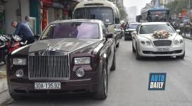 Đám cưới quy tụ nhiều xe sang, siêu sang khủng tại Hà Nôi