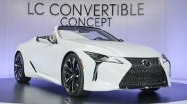 Lexus LC Convertible sắp được đưa vào sản xuất