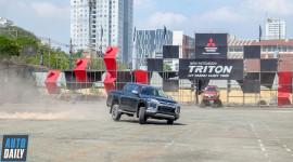 Xem Leona Chin Drift Mitsubishi Triton hoàn toàn mới tại Sài Gòn