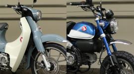 Honda Super Cub C125 và Monkey 125 thêm màu mới