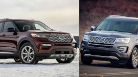 So sánh Ford Explorer 2020 với phiên bản tiền nhiệm: Nhiều nâng cấp đáng tiền