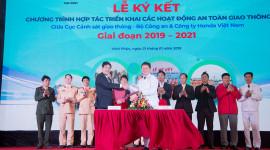 Honda Việt Nam tiếp tục song hành cùng Cục Cảnh sát giao thông – Bộ Công an