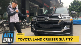 Chi tiết Toyota Land Cruiser VXS 2019 nhập Trung Đông về Việt Nam giá 7 tỷ đồng