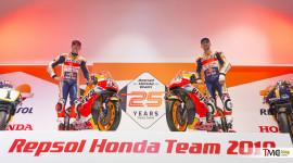 """Repsol Honda Team trình làng """"xe đua"""" Honda RC213V 2019"""