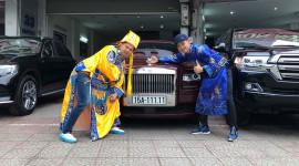 |Táo Quân 2019| Ngọc Hoàng cầm tiền tỷ đi mua xe cũ, có cả Rolls-Royce