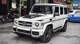 Ảnh chi tiết Mercedes-Benz G63 AMG độ bầu trời sao