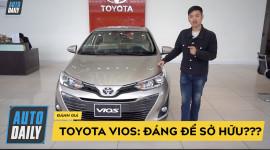 So sánh 3 phiên bản Toyota Vios: Trang bị, giá tiền, CÓ ĐÁNG ĐỂ SỞ HỮU?