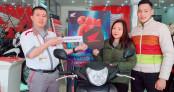 Chỉ trong 2 tháng, hơn 8.600 người tiêu dùng Việt trúng thưởng xe máy Honda