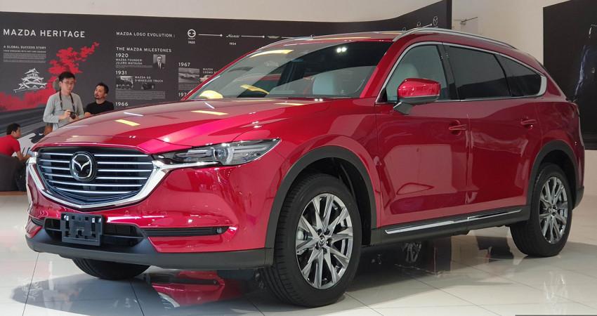 SUV 7 chỗ Mazda CX-8 2019 ra mắt thị trường Đông Nam Á