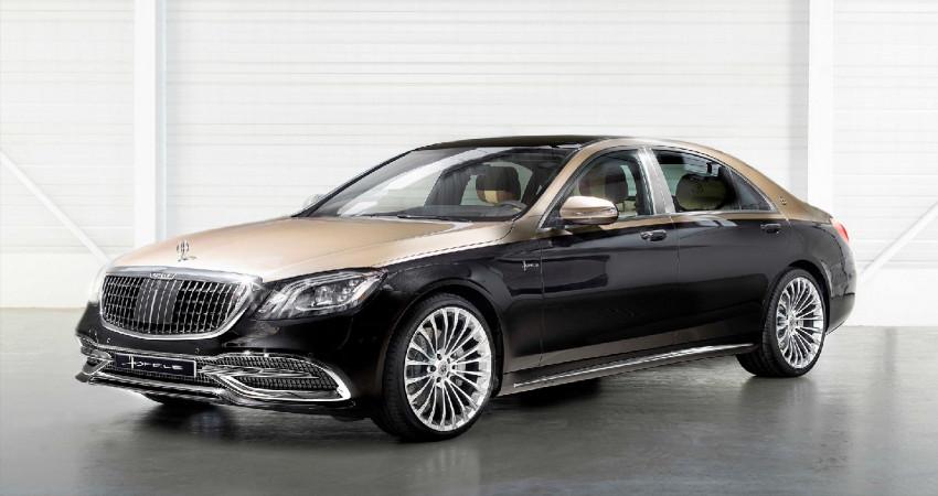 Bản độ Mercedes-Benz S-Class độc nhất vô nhị