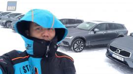 Trải nghiệm ĐỂ ĐỜI: Lái thử Volvo V60 Cross Country trên những con đường BĂNG GIÁ tuyệt đẹp