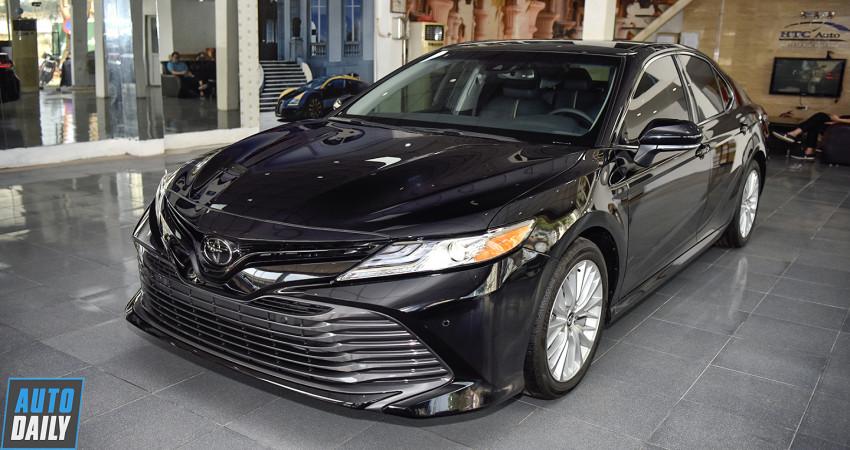 Chi tiết Toyota Camry XLE 2019 nhập Mỹ giá 2,55 tỷ tại Việt Nam