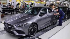 Mercedes-Benz CLA-Class 2020 chính thức đi vào sản xuất