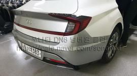 """Rò rỉ ảnh """"nóng"""" của Hyundai Sonata 2020"""
