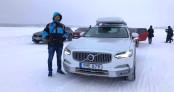 Lái thử Volvo V60 Cross Country trên những con đường băng giá tuyệt đẹp