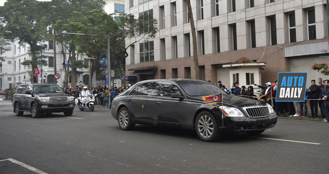 Kim Jong Un mang những xe nào sang Việt Nam?