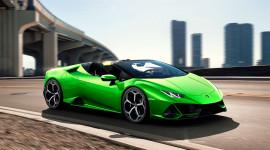 Lamborghini Huracan Evo Spyder ra mắt: Siêu xe mui trần mạnh 630 mã lực
