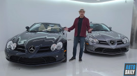 Người đàn ông này sở hữu tới 5 chiếc Mercedes-Benz SLR McLaren