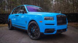 Rolls-Royce Cullinan độ mâm 24 inch của Rapper 27 tuổi người Mỹ